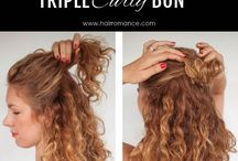 Hairstyles to try / by Honor Lacin