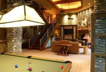 Media and Game Rooms / Fun for all! / by Natural Element Homes