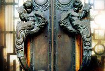 custom door hardware and door knockers / old and new door hardware - antique door hardware - handcrafted custom hardware - architectural hardware