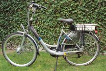 Fietsen omgebouwd tot elektrische fiets / Gewone fietsen omgebouwd naar e-Bike