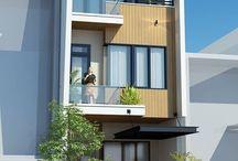 Mininalist house fasad