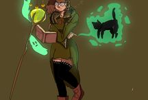 Witchy art Challenge / drawings for the witchy art challenge