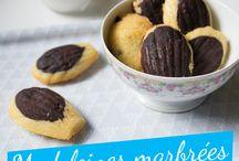Madeleine pancakes
