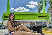 Hot Babes &  Cars