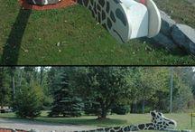 Mailbox ideas / by Cathy Boyd