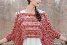 Knitted Ponchos - Capelets