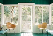 sunroom  / by Elsie Larson of A Beautiful Mess