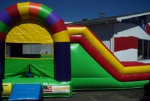 Inflatables / Wish list of inflatable, bounce houses and moon walks we would love to ad.