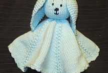 Knitting - baby toys