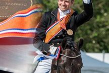 Edward Gal / The best Dutch dressage rider with his horses