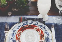 Table top decor and setting / by Emma Hathaway