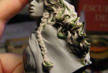 5th Art |  MiniSculpts / Small Scale Sculpts