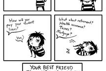 funny comics / by Marissa Adams