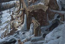 TES V: Skyrim - Concept Art / Concept Art and design from The Elder Scrolls V: Skyrim