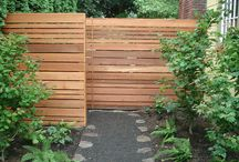 outdoor furniture/fencing / by Lorrie Smith