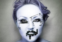 cyborg make up