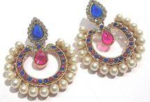 Earrings in fashion Jewellery