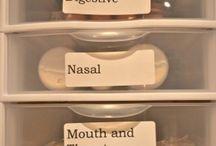 organised  medicine  box