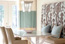 Dining room / The most important room other than the kitchen.  How to be gorgeous but comfortable and adaptable for a crowd.