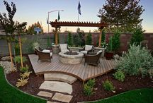 backyard/front yard / by Andrea Gebhart
