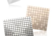 Wall Tile Inoxta® Pattern / The DSP, INOXTA products are line of innovative architectural materials for interiors and exteriors for the both of residential and commercial buildings.