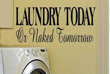 Laundry / Much water / by Inge Kranner