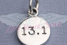 13.1 Half Marathon Charms / 13.1 Miles of Strength, Beauty and Courage :)