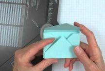 envelopes & punch boards