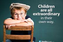 Eu ♥ Crianças  / A criança sempre seguirá o exemplo dos adultos no qual convivem. Informações relacionadas a crianças. ♥