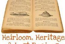 Food - Vintage Recipes