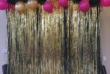 Glam party ideas