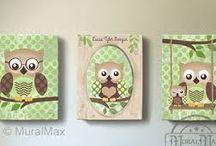 Cute owl decor / Home decor