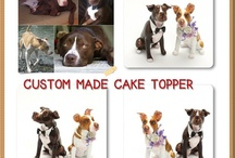 Dog Cake Toppers / by Joan Mclain