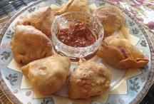Sweet & Beet Samosa