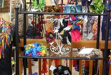 Wildwoman Creations Retail Store / A glimpse of the store 4030 N Highway 101 Depoe Bay, Oregon 97341.  Currently open by appointment.  Email when in town: thewildwoman@mac.com