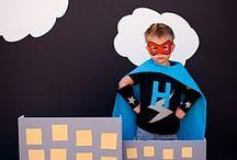 Party: Super Heroes & Villains Theme Party