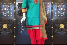Exclusive Designer Patiala Suit Collection.