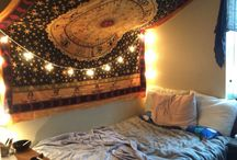 Tapestries/hippie bedroom ideas