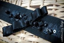 My Portfolio 3 * Handmade/Custom-made/ Made-to-Order Fashion Waist Belt  / My Designs, My Fashion, My Embellishments, My Creation, My Beadworks