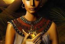 Egypte / Koning en koningin