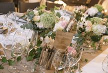 La décoration de mariage / La décoration des tables, de la salle de réception ou encore des lieux de cérémonies est un point important à ne pas négliger pour que l'harmonie soit le maître mot de votre mariage !