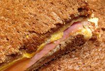 Duizenden een dag :Tosti met ham,kaas,ei ...