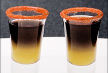 Holiday grown up beverages / Specialty cocktails and shots