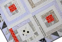 Sewing with Text Print Fabrics / Ideas for projects using fun text prints