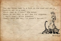 Alice, I think / For those who love nonsense...