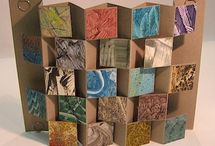 Book Art-accordion / Artist's books that are made using accordion folds such as flag books, blizzard books and gallery books, to name a few.