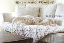 knit blanket