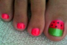 Nails  / Watermelon