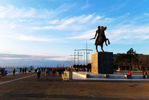 thessaloniki / thessaloniki city travel landmarks