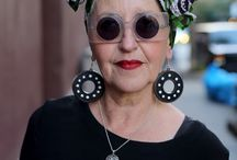 Ageless Style / A collection of older women proving that fashion and style are ageless and grey hair is beautiful.